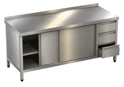 Table cabinet with drawer unit H54401-SR