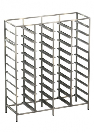Euro-norm shelf unit with hanging rails Example 2