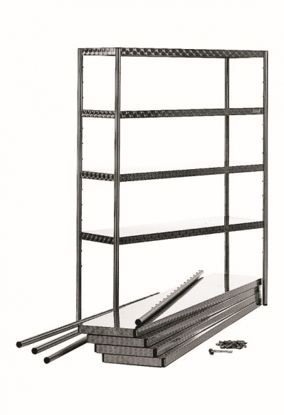 Stainless steel shelf unit 5850100