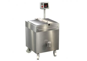 Additional cooking kettle, 150 litres, digital control