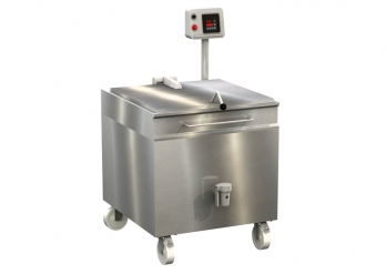 Additional cooking kettle, 200 litres, digital control